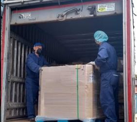 Sinthya Quimica continua prestando su servicio en el aislamiento obligatorio