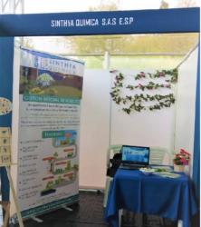 Sinthya Quimica participa en el evento de emprendimiento de la Universidad Nacional.